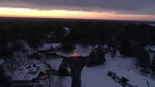 Southern Illinois DJI Phantom 4 Pro V2.0 Snow