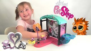 Пэт Шоп веселый парк развлечений открываем фигурки животных Pet Shop Fun Park