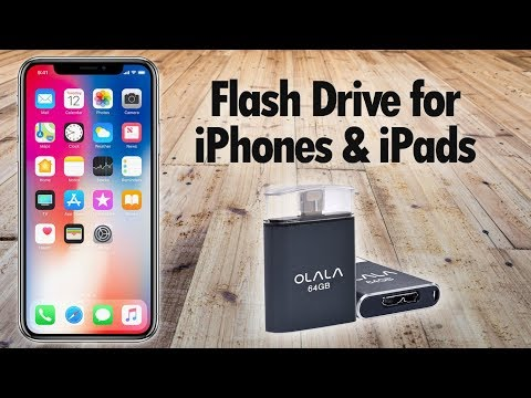 Flash Drive for iPhones and iPads (Backup Pictures, VIdeos, and Contacts Without iTunes)