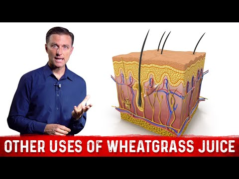 Other Uses of Wheatgrass Juice Powder: The SKIN