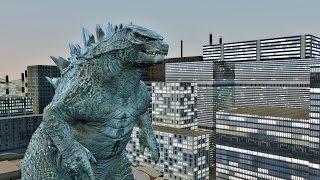 Godzilla Animation Test Gmod