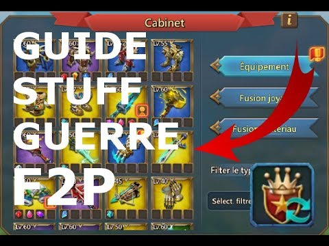 [TUTO] STUFF GUERRE F2P (gratuit) + TALENT GUERRE [LORDS MOBILE]