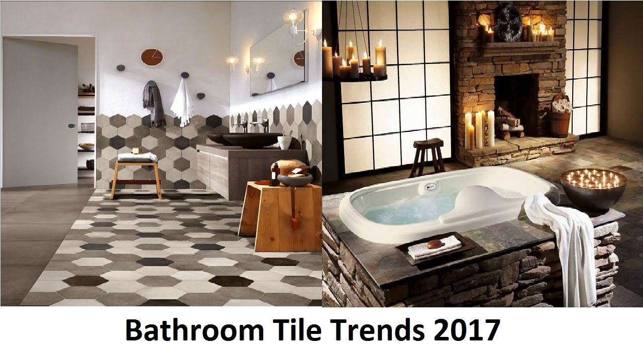 Bathroom tile trends 2017 that will attract your attention for Tile trends 2017 bathroom