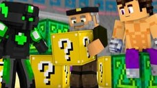 LUCKY BLOCKS | Vegetta VS sTaXx VS Willyrex | EL COLISEO DE LA FORTUNA