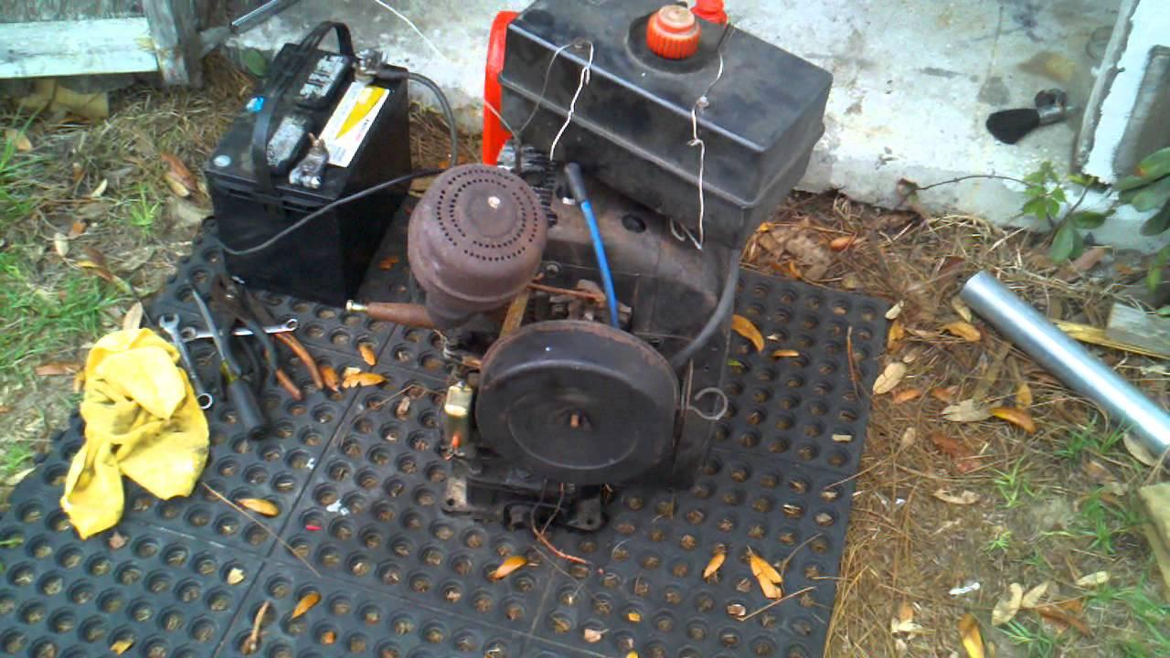 Kohler k301 12 hp engine YouTube – Kohler K321 Engine Diagram S