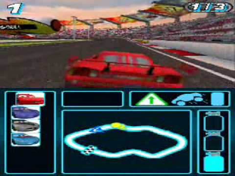 cars 2 nintendo ds gameplay youtube. Black Bedroom Furniture Sets. Home Design Ideas
