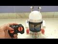 How to make a RC robot at home
