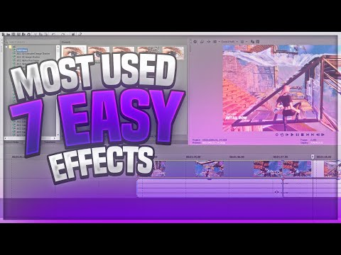 Most Used Fortnite Montage Effects