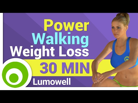Power Walking for Weight Loss - Low Impact Cardio Workout