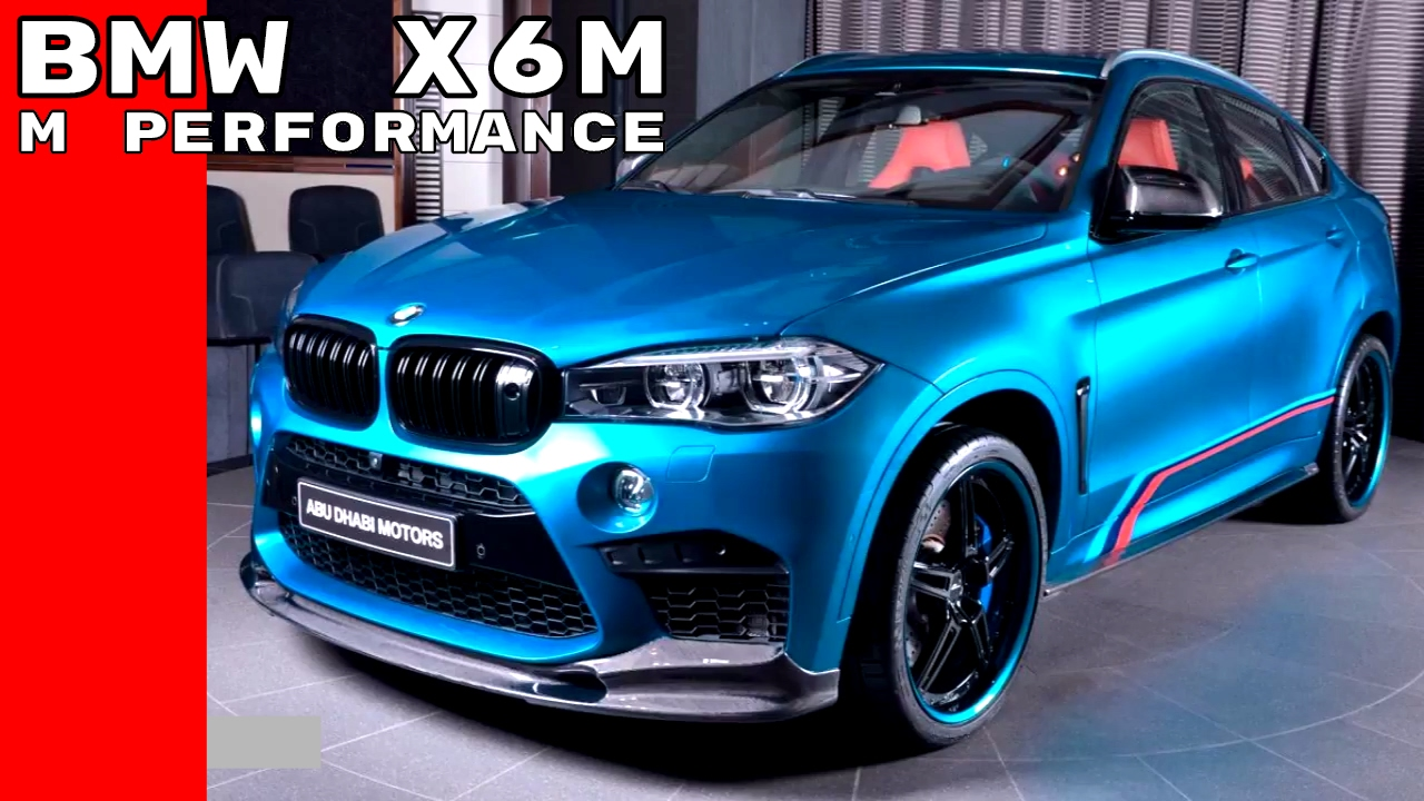 Bmw X6m M Performance Package Youtube