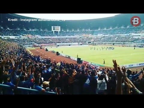 Keren! Viking Clap Warnai Kemenangan Persib Bandung Atas Sriwijaya FC