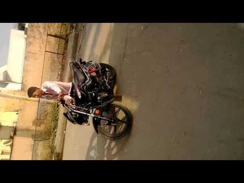 bike stunt !! by naveen comedy !! brand new 2016
