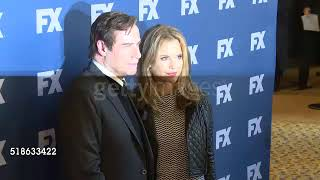 John Travolta & Kelly at 'The People v  O J  Simpson American Crime Story'   FX Networks Upfront Scr