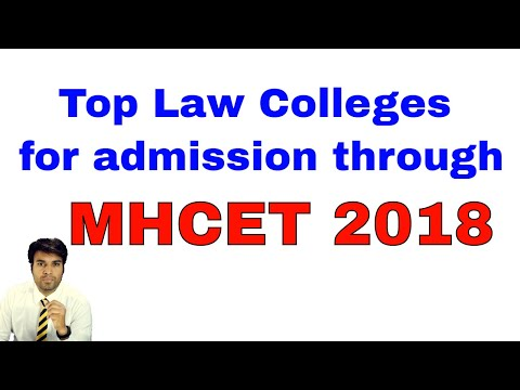 Top Maharashtra Law College which gives admission through MHCET LAW Exam