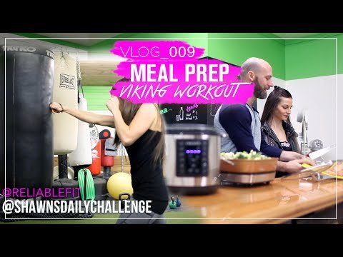 MEAL PREP IN UNDER AN HOUR | Viking Workout