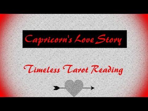 Capricorn **Love Story** Tarot Reading