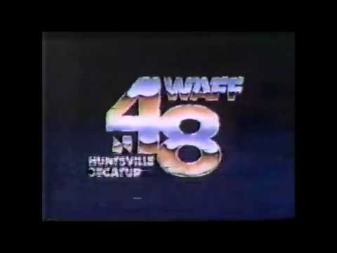 WAFF-TV Disco Sign Off - Before The Station Burned