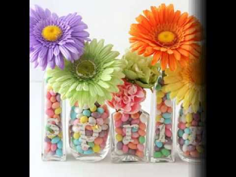 Easy DIY Spring baby shower decorating ideas - YouTube