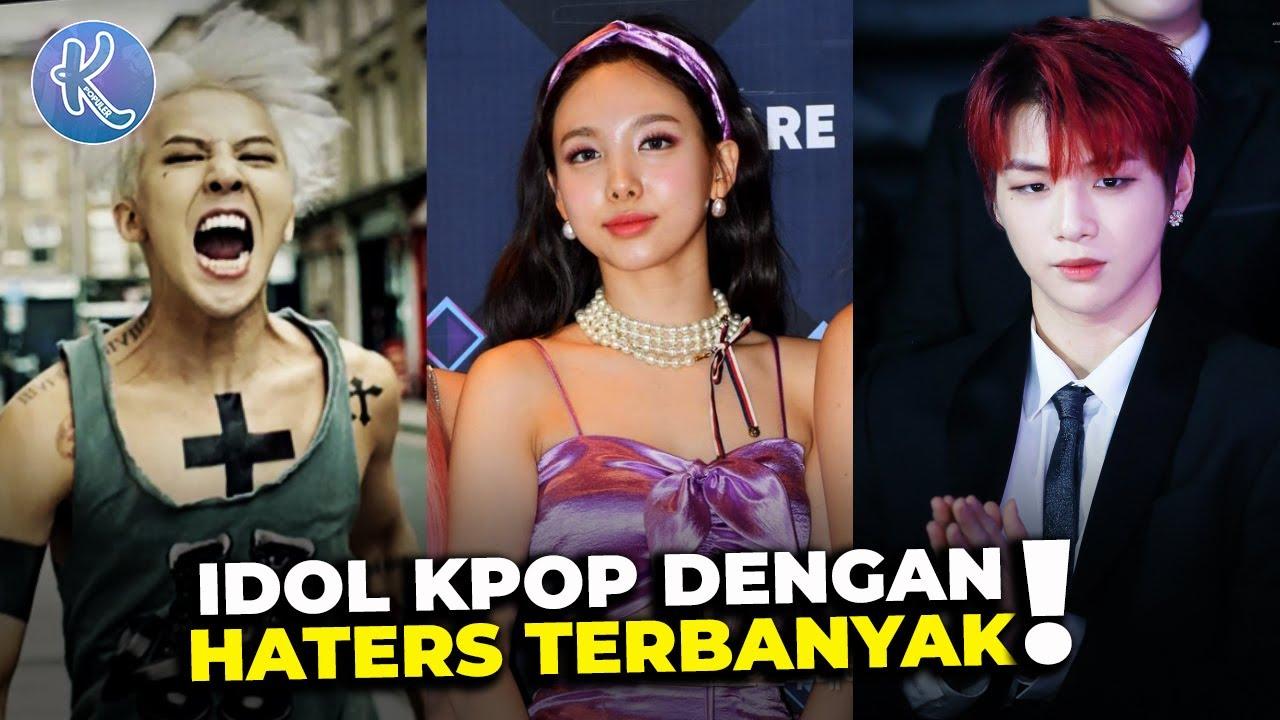Dicintai Tapi Dicaci 8 Idol Kpop Yang Memiliki Banyak Haters Youtube