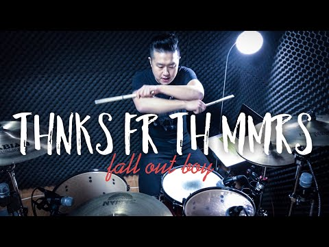 """[4K]ROP - """"Fall out boy - Thnks Fr Th Mmrs"""" Drum Cover"""