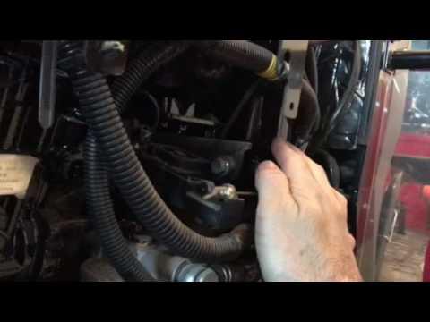 Mahindra 1533 1538 fuel shut off