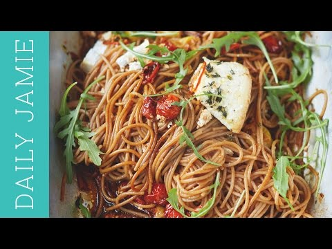 spelt-spaghetti-recipe-from-my-new-book-|-daily-jamie