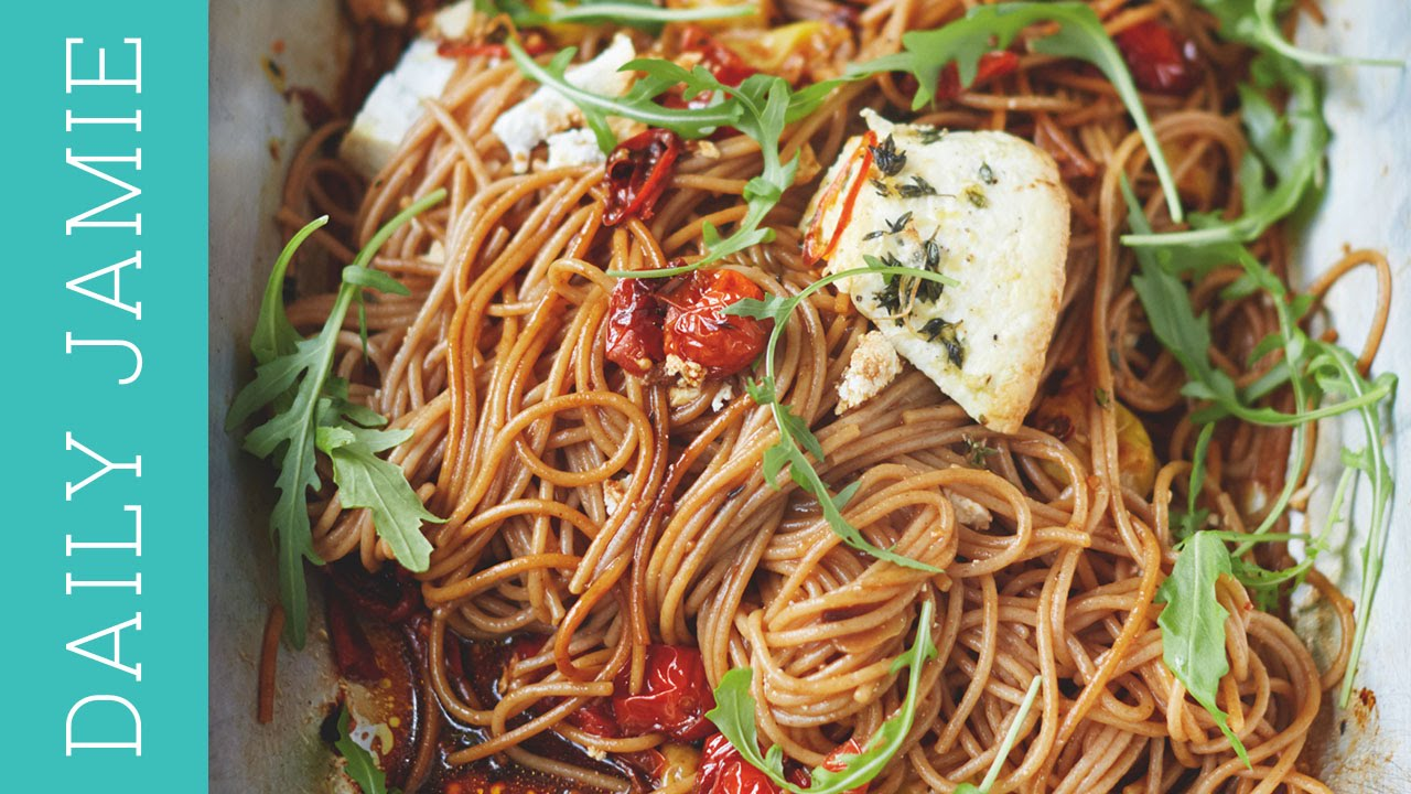 Spelt spaghetti recipe from my new book daily jamie youtube forumfinder Gallery