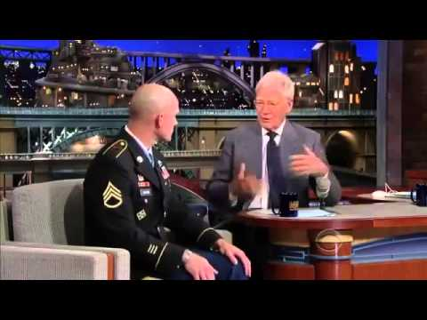 Michael Carter Chemical Interview Letterman 2013 08 28