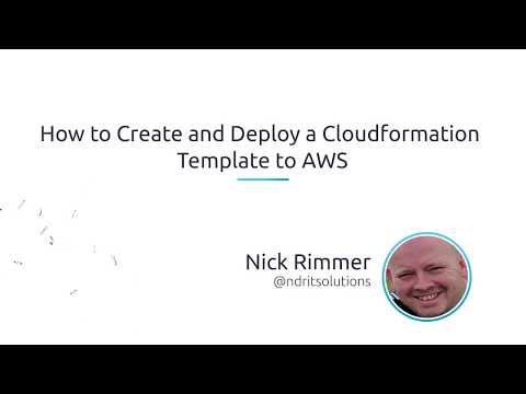 Create and Deploy a Cloudformation Template to AWS - N2WS