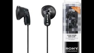 Sony MDR-E9LP Unboxing
