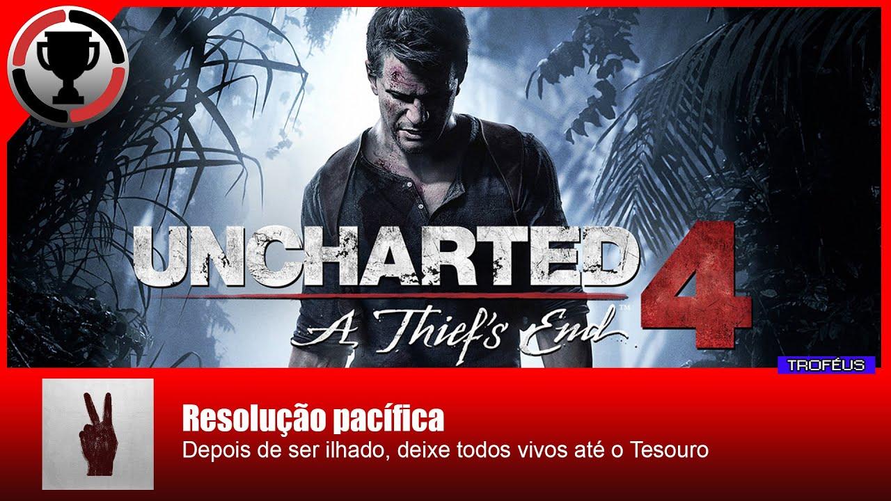 019804e2d0 Uncharted 4 - Resolução pacífica - YouTube