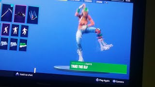 HOW TO GET THE TAKE THE ELF EMOTE RIGHT NOW!-FORTNITE BATTLE ROYALE!