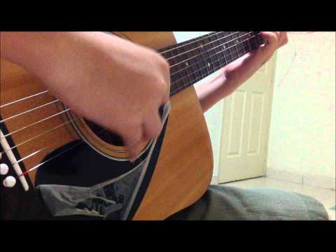 TaeYeon 태연 - Missing you like crazy (fingerstyle/solo guitar cover)