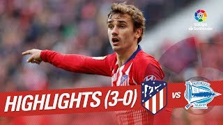 Highlights Atletico de Madrid vs Deportivo Alaves (3-0)