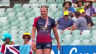 Women's 7s Sydney 2018 Russia vs Fiji