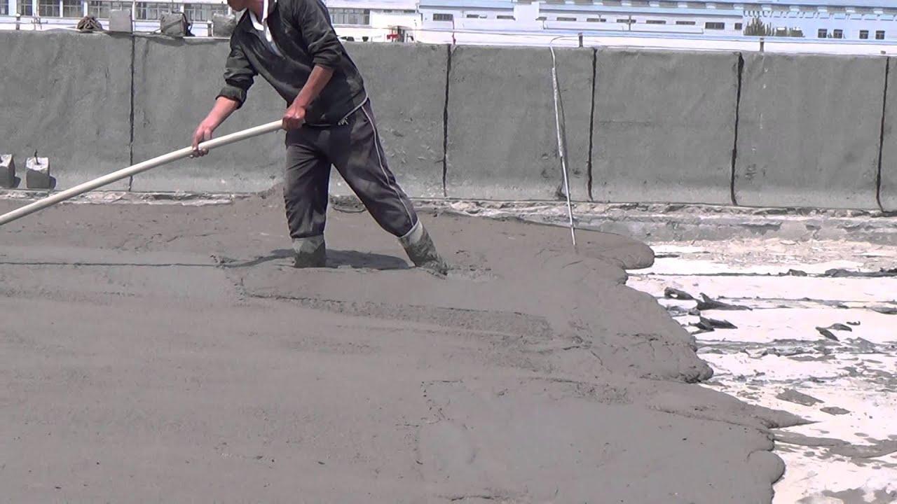 Foam concrete machine for roof insulation clc doovi for Concrete foam insulation