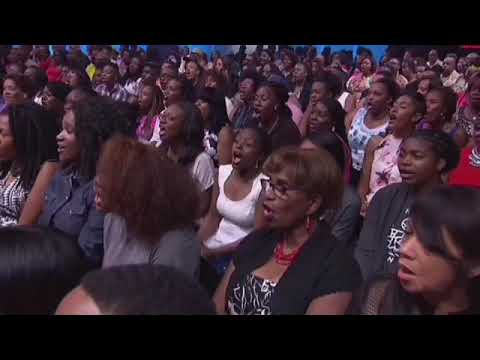 "Tye Tribbett ""Work It Out"" on Joyful Noise"
