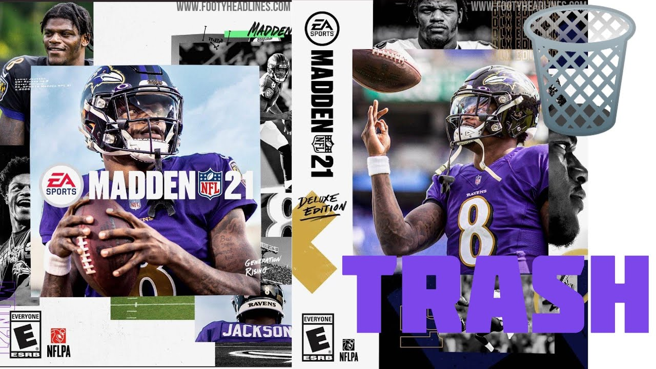MADDEN NFL 21 TRAILER IS TRASH!