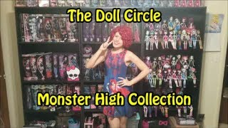 Monster High Collection (Part 1 of 6) Toy Room Tour The Doll Circle