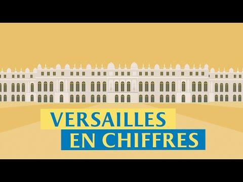 Versailles en chiffres