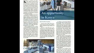 An opportunity in kenya