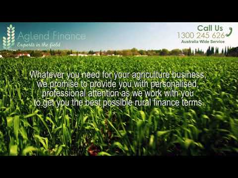 Agribusiness Loans, Agricultural Finance | AgLend Finance