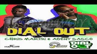 CHRIS MARTIN AND AGENT SASCO - DIAL OUT - DIAL OUT RIDDIM - DJ FRASS - APRIL 2012