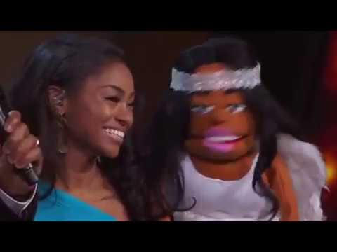"""Ventriloquist Megan Piphus Performs """"I Will Always Love You"""" 