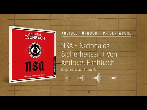 NSA - Nationales Sicherheits-Amt YouTube Hörbuch Trailer auf Deutsch