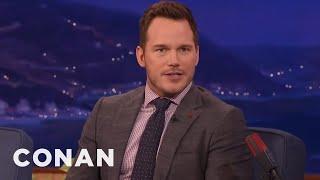 Chris Pratt Sends Nick Offerman And Adam Scott Photos Of His Poop - CONAN on TBS