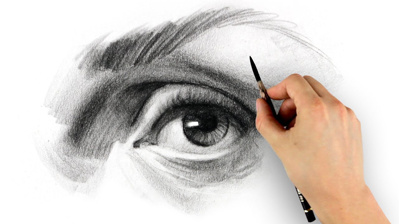 How to Draw an Eye - Step by Step - YouTube