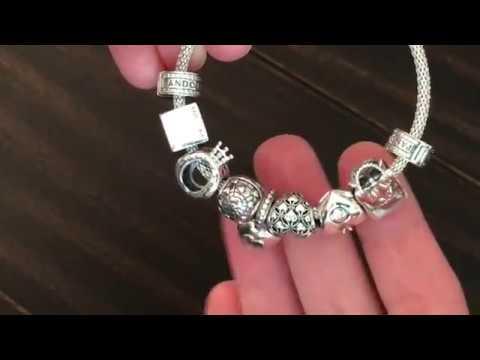 My Pandora Bracelet Love Of Pandora Club Charms Youtube