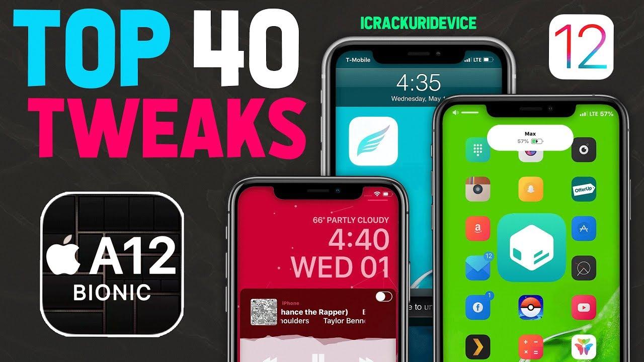 Top 40 A12 Jailbreak Tweaks for Sileo & Chimera Jailbreak