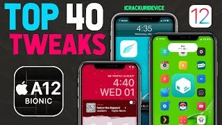 Top 40 A12 Jailbreak Tweaks for Chimera Jailbreak iOS 12 - 12.1.2 (Best Sileo Tweaks #2)